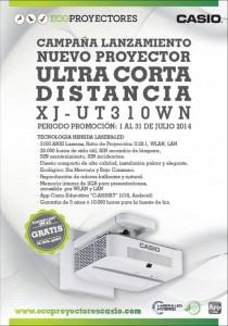 Proyector ultra corta distancia
