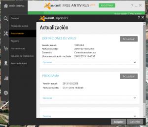 Problema PDI eBeam con Avast