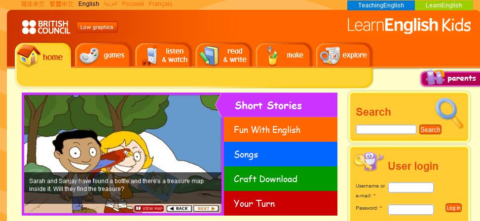 http://learnenglishkids.britishcouncil.org/en/short-stories/the-snowman