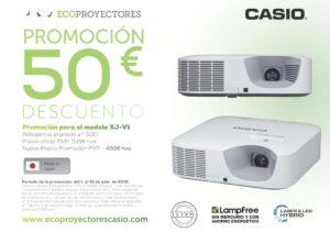 PROMOCIÓN 50€ Casio XJV1