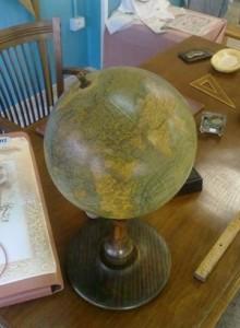 Mapa Mundi Museo Pedagógico de Aragón