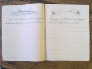 Cuaderno (Museo Pedagógico de Aragón)