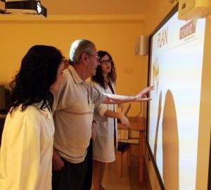 Actividades para personas mayores. La pizarra digital 2