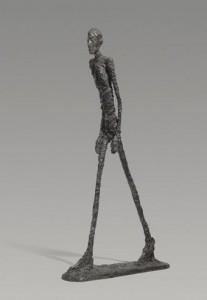 El hombre que camina de Giacometi
