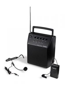 Equipo de amplificación portátil 20 W.