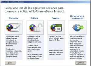 Interfaz eBeam 2.3