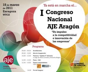 Invitación Congreso Nacional AJE Aragón
