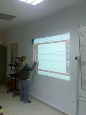 Clase con eBeam Projection