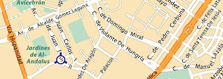 plano Escuela Superior de Hostelería de Zaragoza